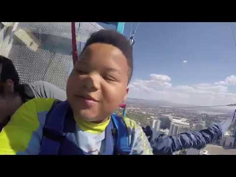 MY BROTHER JUMPED OFF A BUILDING TOO!!! (Las Vegas Stratosphere Sky Jump)