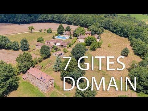 7 gites domain in Belvès Montpazier - Dordogne - Perigord noir  - Ref : 85224ITY24
