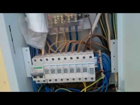 Подключение скважины. Насос водолей / Connection wells.