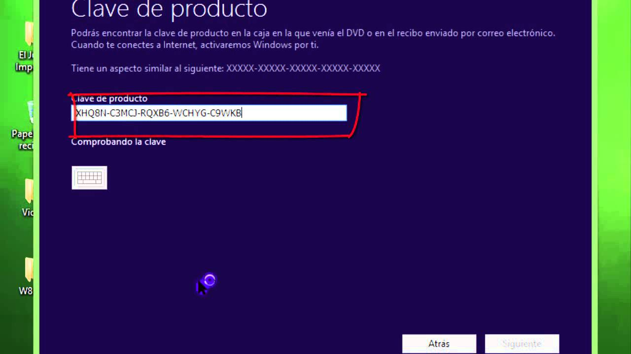 windows 8 pro serial