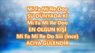Hayat Bayram Olsa La Minör Nihavend Karaoke Blok Flüt Orkestrası Aykut öğretmen