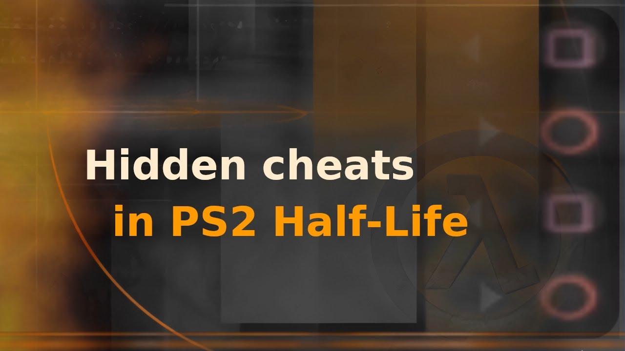 Hidden cheats in PS2 Half-Life port