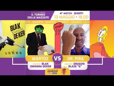 Torneo Delle Mazzate 2020 - 1x04 - MARTOZ Vs DOTTOR PIRA