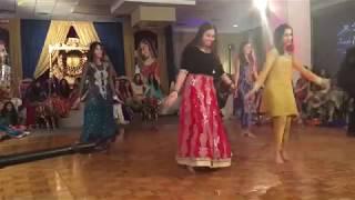 Cham Cham, Channe Ke Khet, Dil Dooba - Best Pakistani Mehndi Dance 2017