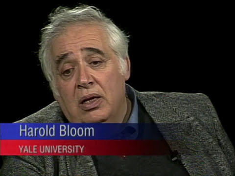 Harold Bloom interview on