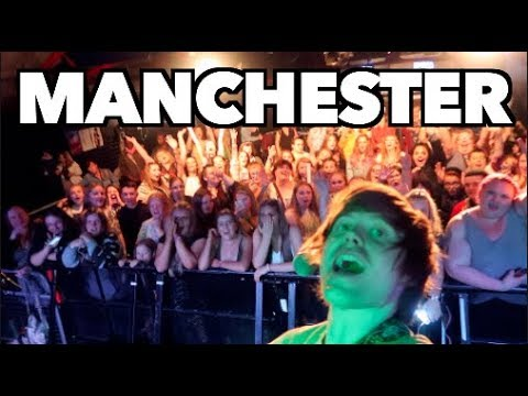 ON TOUR WITH RYAN LAWRIE // MANCHESTER