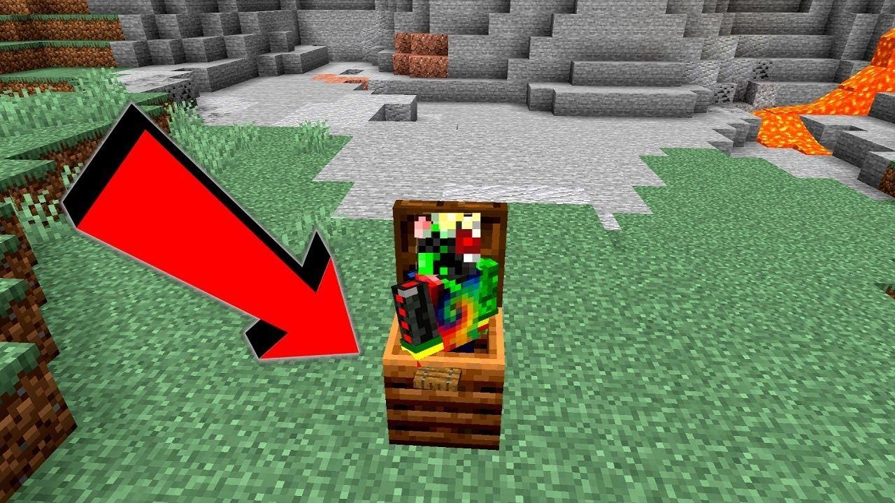 Smallest House In Minecraft 1 Block Starter Hut Youtube
