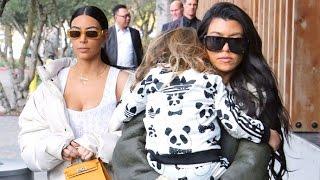 Kim And Kourtney Kardashian Celebrate Late Father Robert Kardashian's Birthday
