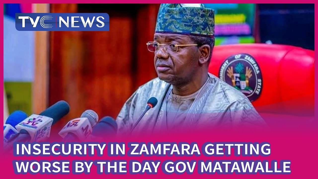 Download Insecurity In Zamfara Getting Worse By The Day   Gov  Matawalle