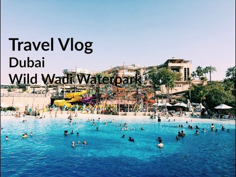 Travel Vlog Dubai Day 4 | Wild Wadi Waterpark & Dubai Fountain