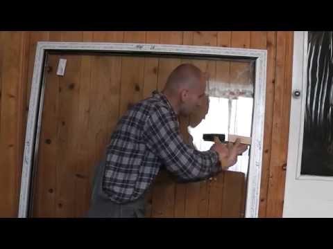 Как собрать стеклопакет в пластиковом окне