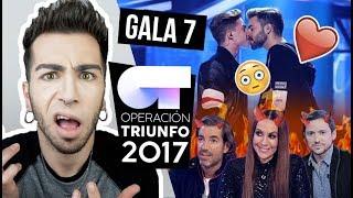 OT 2017 Gala 7 (REACCIÓN) | MALBERT