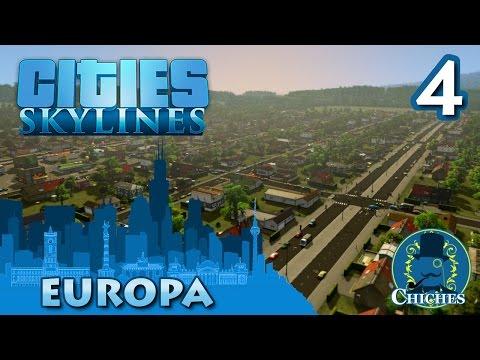 Cities Skylines - Europa - La gran Avenida  #4 en español