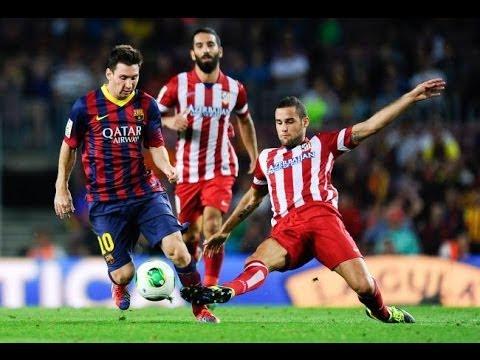 Barcelona vs Atletico Madrid 1 - 1 All Goals & Highlights UEFA CL 1/8 Final 2013/2014