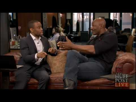 Karl Malone destroys Huffington Post reporter Marc Lamont Hill on racism against blacks