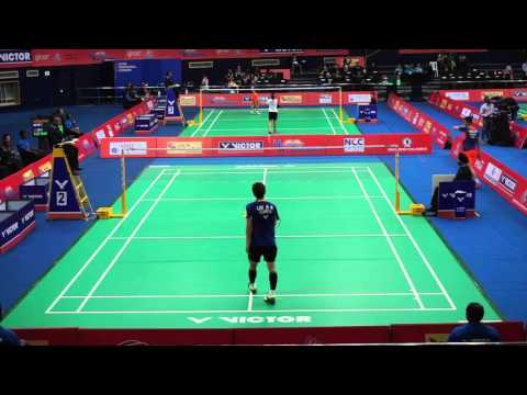 Highlight Matches Quarter Finals   Korea Vs China Men's Singles 2 Game 2