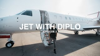 I TOOK A PRIVATE JET WITH DIPLO - EPISODE 2