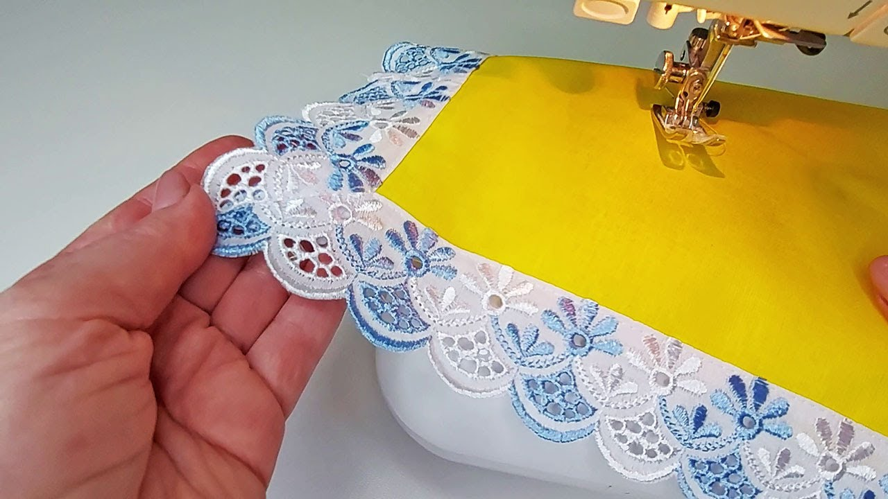 Amazing sewing tricks for finishing the edges (corners)