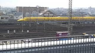 [京都鉄道博物館レポート] 遭遇!ドクターイエロー!!