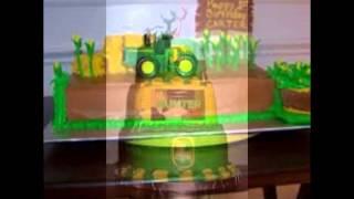 john deere baby shower cakes