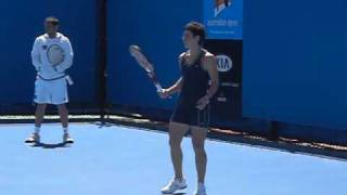 Carla Suarez Navarro Backhand Slow Motion streaming