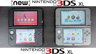 New Nintendo 3DS XL Vs Nintendo 3DS XL Full Comparison