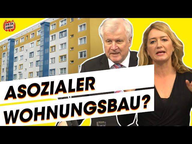 Mietenwahn & Wohnungsnot: Was tun Seehofer & Co?