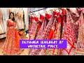 Best Wholesale Market For Bridal Lehengas and Jewellery 💓  Cheapest Wholesale Market ❤️❤️❤️