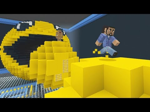 Minecraft XBOX - Run From The Beast - Retro Arcade