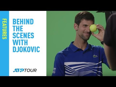 Behind the Scenes of the ATP Shoot with Novak Djokovic