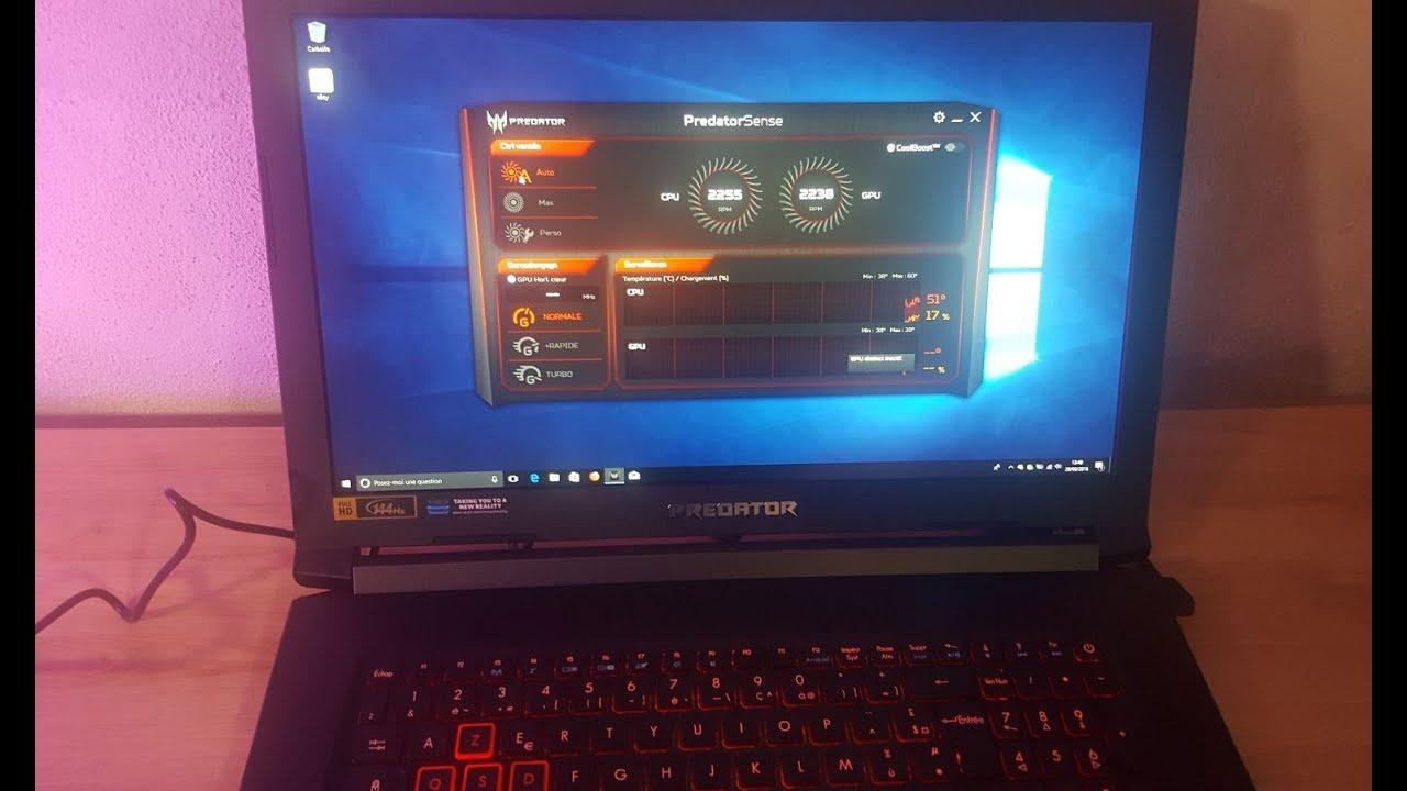 Acer predator helios 300 i7 8750h gtx 1060 - Unboxing review