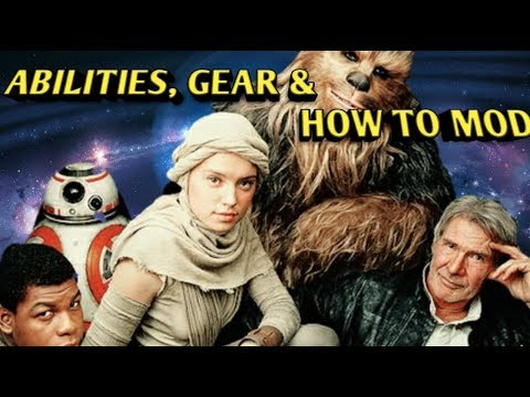 Rey's Journey: How to Mod, Gear Req. & Abilities for characters star wars galaxy of heroes swgoh