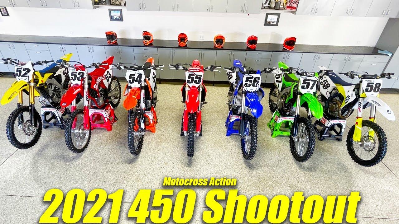 MXA's 2021 450 Shootout