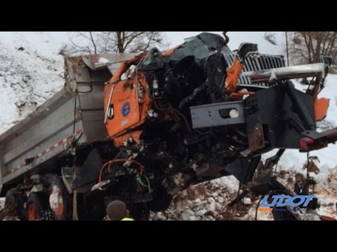 Thumbnail: #DontCrowdThePlow - Snow Plow Crash in Spanish Fork Canyon