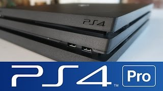 PLAYSTATION 4 PRO UNBOXING