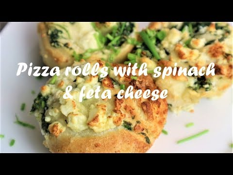 Pizza Rolls With Spinach & Feta Cheese Recipe