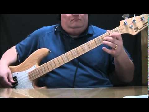 Phil Collins Heatwave Bass Cover with Notes & Tablature