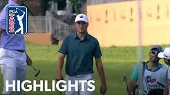 Jordan Spieth's highlights |  Round 1 | Valero 2019