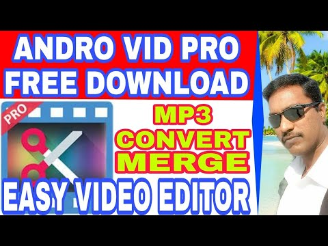 Andro Vid 🌟pro 🌟free Download &video Editing TAMIL