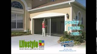 How To Convert Garage With Lifestyle Garage Screen Door | Video By Woodys Enterprises