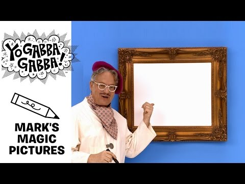 Mark's Magic Picture -  Helicopter - Yo Gabba Gabba!