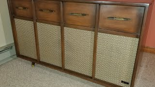 Vintage Arvin Model 72P88 Console Stereo