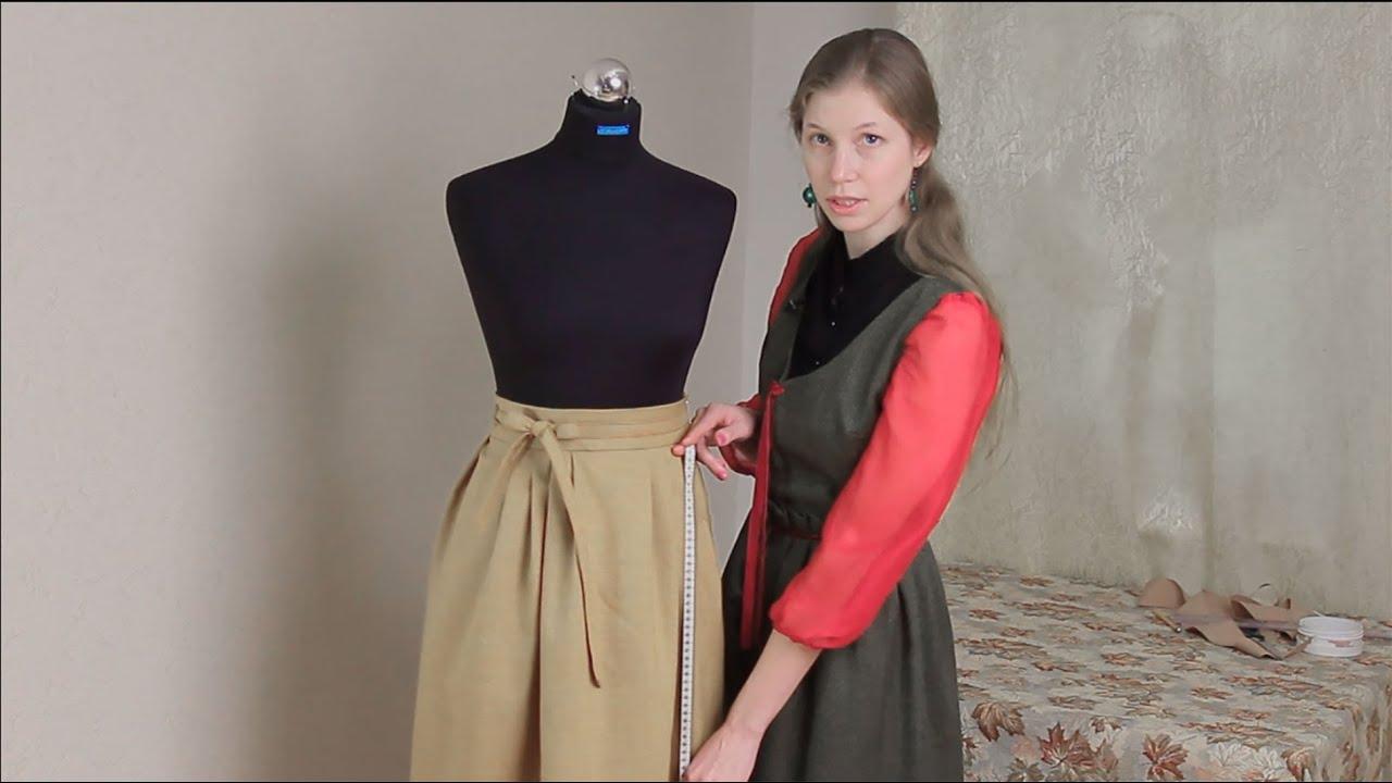 Пошив юбки татьянка