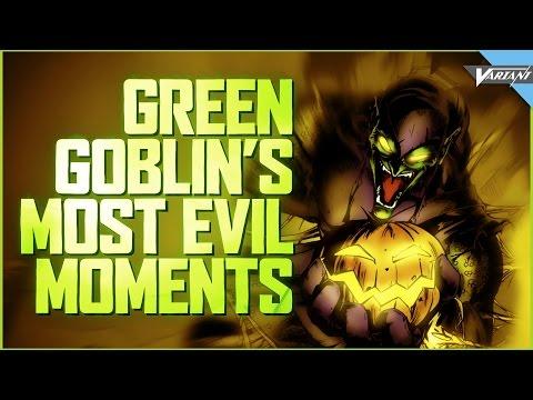Green Goblins Most Evil Moments!