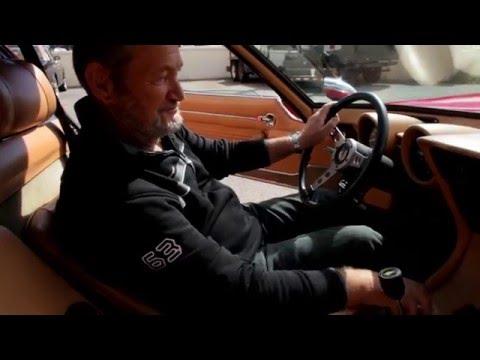 Lamborghini Miura  with Valentino Balboni