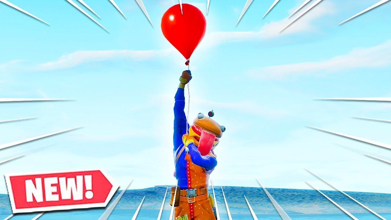 New Fortnite Balloons Gameplay Balloons Fortnite Gameplay
