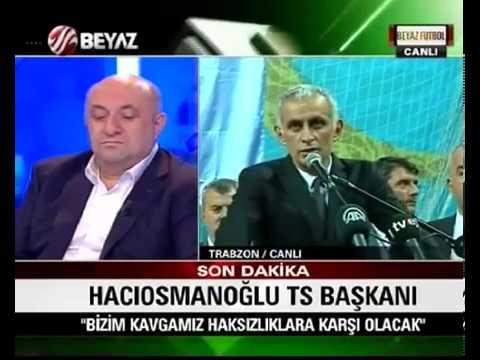 Trabzonspor'un yeni Başkanı İbrahim Hacıosmanoğlu oldu