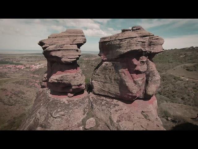 Fantastico enclave entre rocas de ródeno / Great landscape between rocks