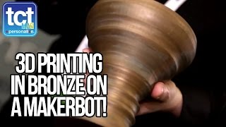 MakerBot Talk 3D Printing In Bronze, Maple, Limestone And Iron Filaments At CES 2015