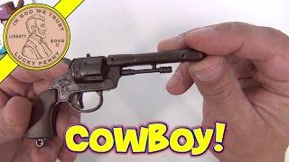 Ковбой 6 Зарядний Револьвер Один Кришка Пістолета - 6 Литий Колекційна Іграшка Пістолет